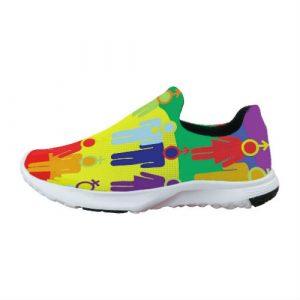 Zapatillas Personalizadas LGTB Noname Publicidad