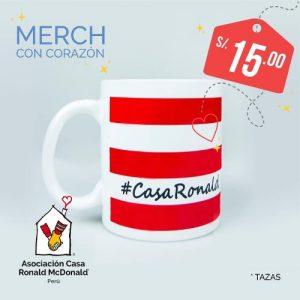 Tazas Asociación Casa Ronald McDonald Perú