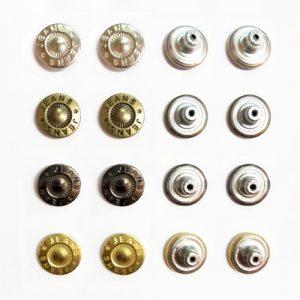 Botón de Metal para Pantalón Jean Model