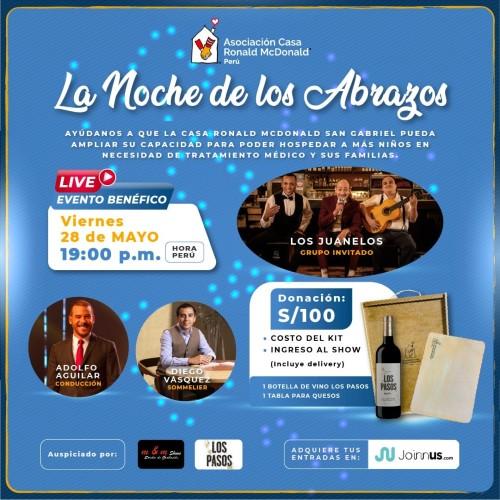 La Noche de los Abrazos Casa Ronald Perú 2021