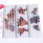 Regla Chica Delgada Lenticular 3D Publicitario 16 X 3.5 cm