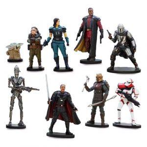 The Mandalorian Set Incluye 9 Figuras 1