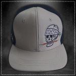 Gorra Skull Blanco Volt Industries 001