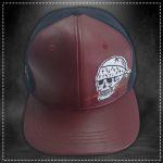 Gorra Skull Guinda Volt Industries 001