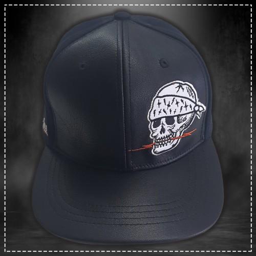 Gorra Skull Negro Volt Industries 001