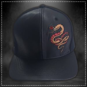 Gorra Snake Negro Volt Industries 001