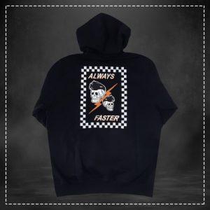 Sweatshirt Always Faster Frame Black Volt Industries 003