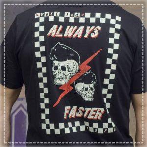 Tshirt Always Faster Black Volt Industries 001