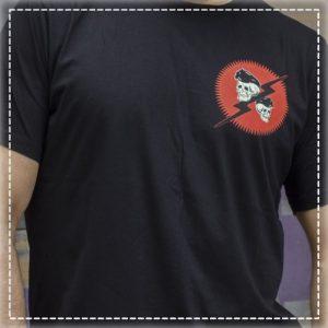 Tshirt Always Faster Black Volt Industries 002