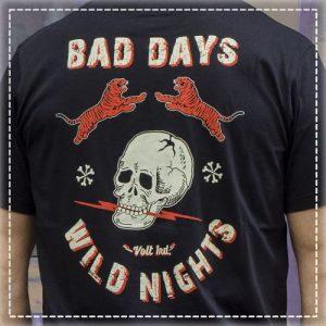 Tshirt Bad Days Black Volt Industries 001