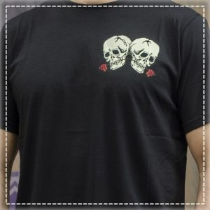Tshirt Love Never Black Volt Industries 002
