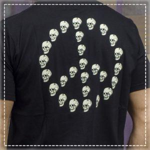 Tshirt Peace Out Black Volt Industries 001