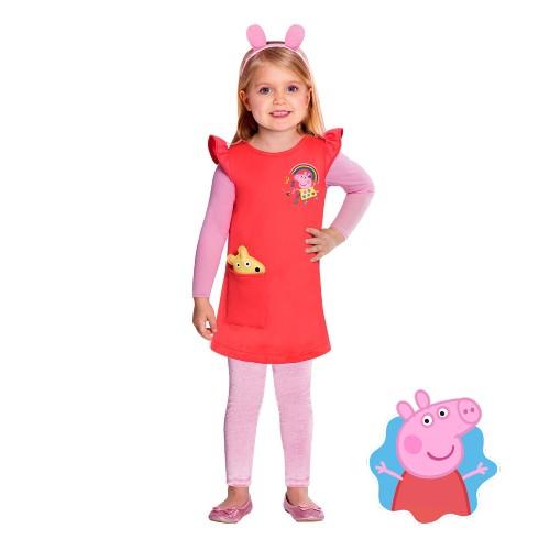 Disfraz Peppa Pig Polivestido