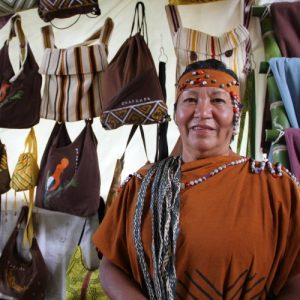 Textiles en Algodón de la Comunidad Nativa Tsachopén 01
