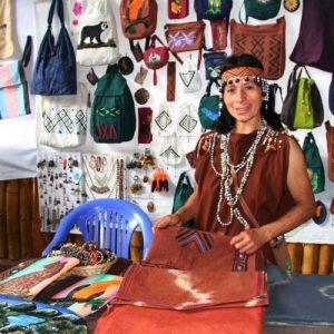 Textiles en Algodón de la Comunidad Nativa Tsachopén 02